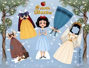 princesses free disney inspired paper dolls