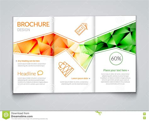 modern brochure design templates tri fold modern brochure design template with trendy