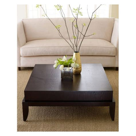 Furniture Archer Espresso Coffee Table With Shelf Walmart Table Living Room