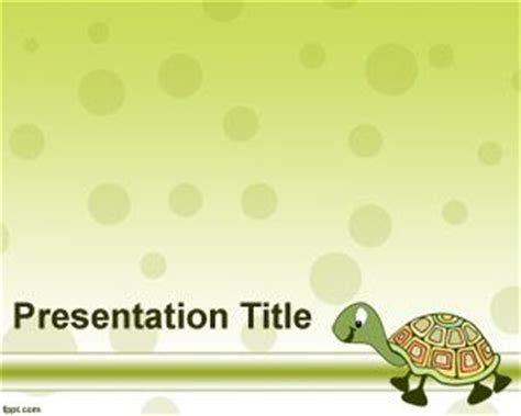 Turtle Powerpoint Template Free Animal Powerpoint Templates