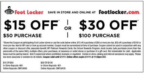 Can You Use A Footlocker Gift Card Online - footlocker discount coupons spotify coupon code free