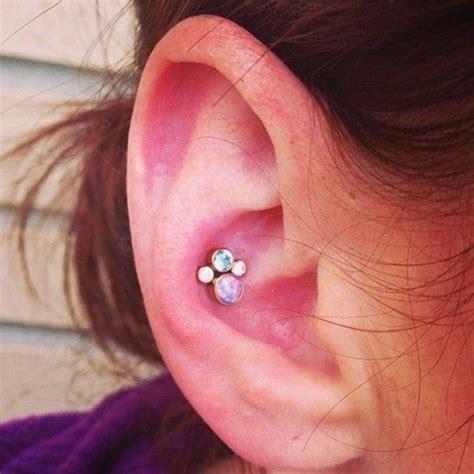 inner conch earrings silver stud inner conch piercing