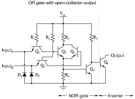 xor gate transistor diagram xor gate
