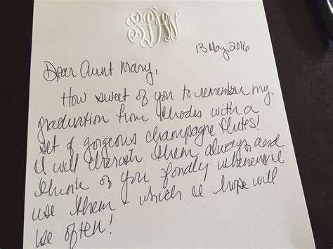 thank you letter after handwritten why a handwritten thank you note matters so much