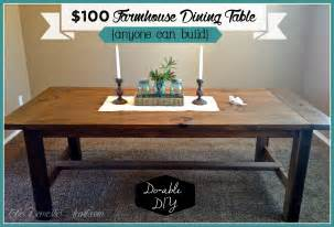 Farmers Dining Room Table diy farmhouse dining table my first woodworking project