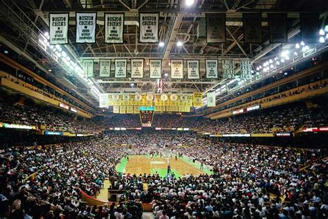 Boston Gardens by Boston Celtics The Softball Coach