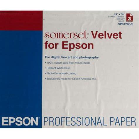 epson velvet fine art paper review