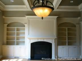 Fireplace With Built In Bookshelves Built In Bookshelves Add A Quality Touch To Custom Homes