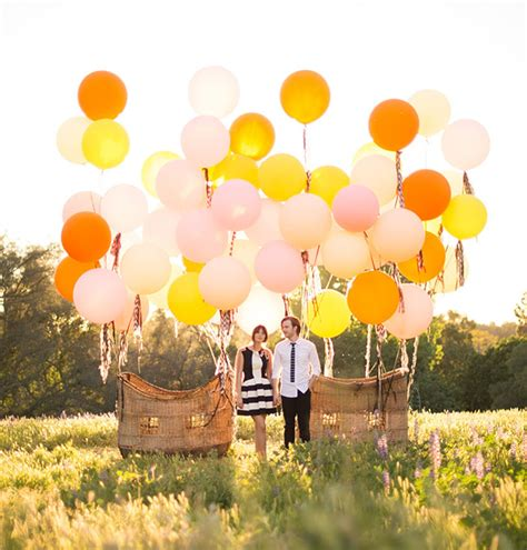 Latest Home Decoration Vintage Air Balloon Wedding Inspiration Green