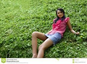 Asian girl with mini skirt royalty free stock image image 27749716