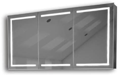 miraculous mirror cabinet 60 led light illuminated illuminated mirror cabinet fac 28 60x120x14 led bathroom