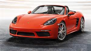 Porsche Pictures 2017 Porsche 718 Boxster Picture 663470 Car Review