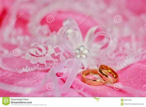 Wedding Background Pink by Weeding Rings Royalty Free Stock Image Image 29841336