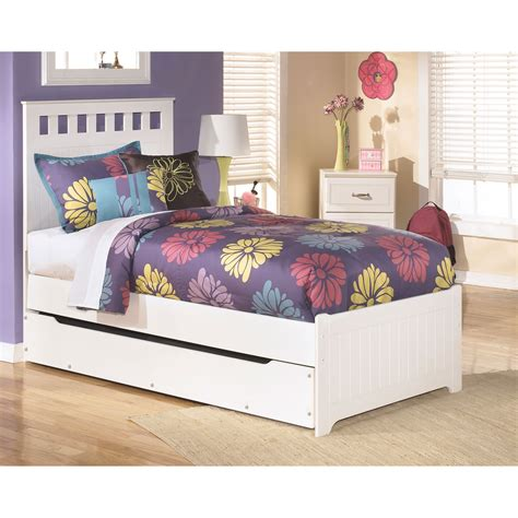 ashley trundle bed ashley lulu panel bed with trundle beds home