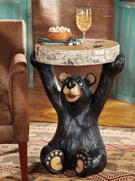 Bear End Table