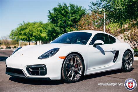Porsche Cayman Felgen by Porsche Cayman Gts On Hre Wheels Looks Technical Photo