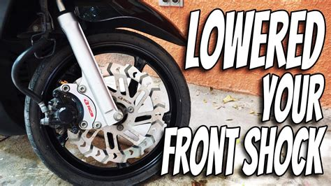 Shock Motor Mio Sporty yamaha mio sporty lowering your front shock lowered mio vlog