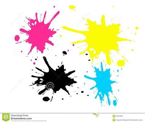 the color spot cmyk spots stock illustration illustration of magenta