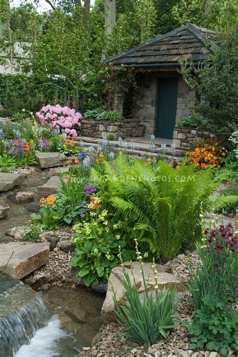 how to start a rock garden top 17 brick rock garden waterfall designs start an
