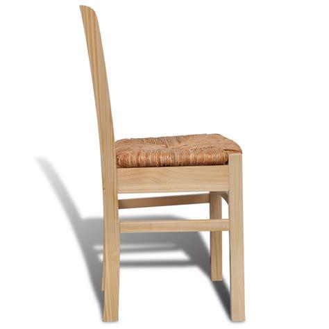 sedie da tavolo articoli per sedia da tavola legno naturale 4 pz vidaxl it