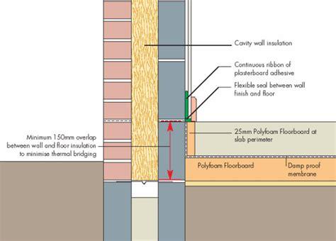Concrete Floor Slab Detail by Concrete Floor Insulation Details Image Mag