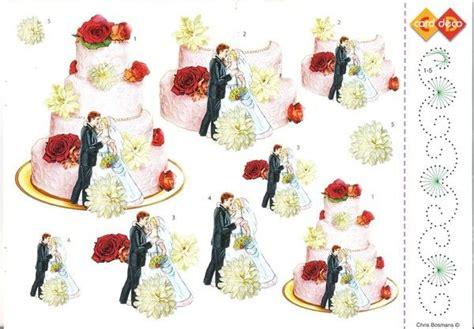 Decoupage Editing - planche decoupage mariage 3d vellen