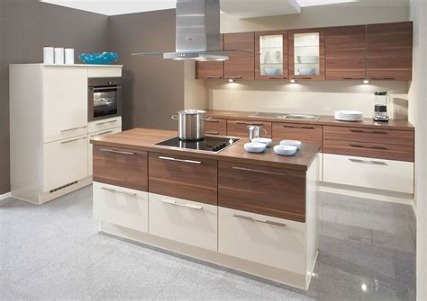 gloss kitchen designs interior exterior plan primo cream high gloss walnut