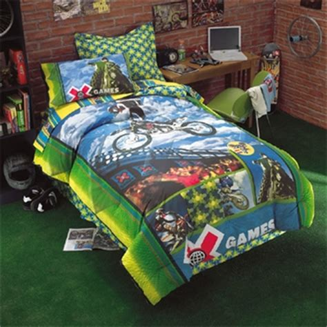 Fox Racing Bedding Set X Motocross Bedding Comforter Sheets Drapes Valance Pillow