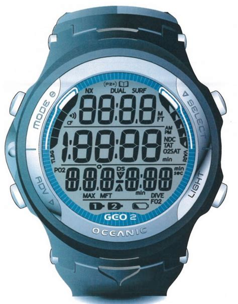 oceanic geo 2 allows you naturally become a tech diver