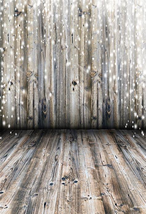 5x7ft light grey wood wall photography