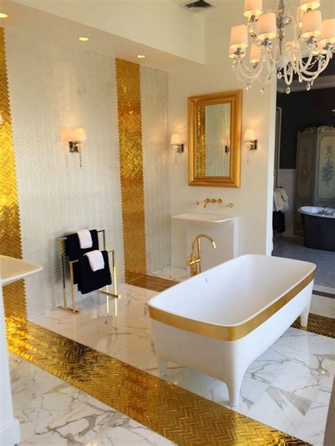 Bathroom Cabinet Color Ideas 10 glamorous luxury bathrooms with golden touch
