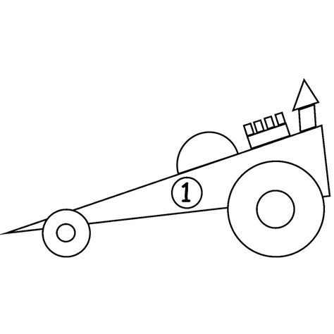 kid race car drawing racing car outline drawing clipart best
