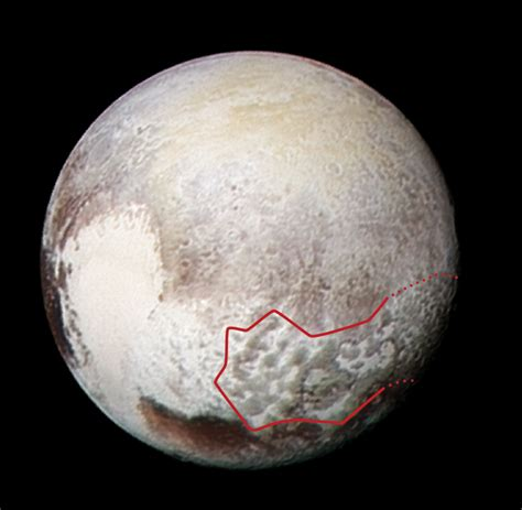 new images of pluto image pluto s bladed terrain in 3 d
