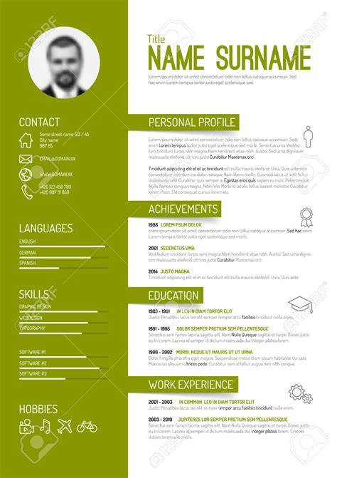 Fancy Resume Templates fancy cv template wanted tex stack exchange