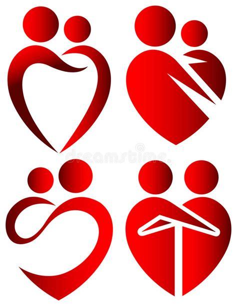 clipart amicizia simboli di illustrazione vettoriale illustrazione