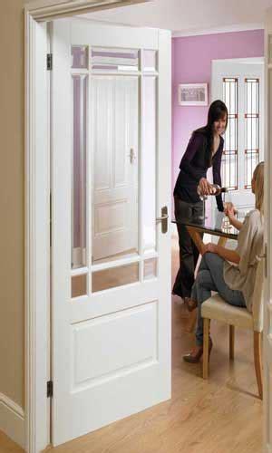 Downham Glazed Internal White Doors White Interior Glazed Doors