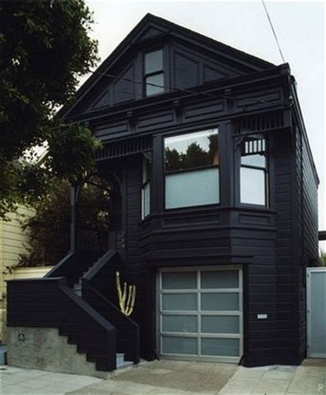 the black house looks kind of like anton lavey s house black attack pinterest paint colors house and dark