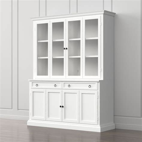 Wall Units With Glass Doors Cameo 4 Grey Storage Bookcase Entertainment Center Crate And Barrel
