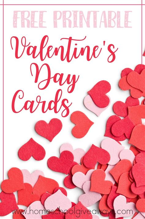 valentines day cards free printable s day cards