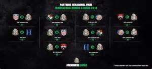 Calendario Rusia 2018 Concacaf Partidos Para El Hexagonal De Concacaf Rumbo A Rusia