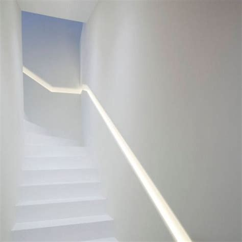 Lights For Stair Banisters by Stairs Beautiful Illuminated Recessed Handrail