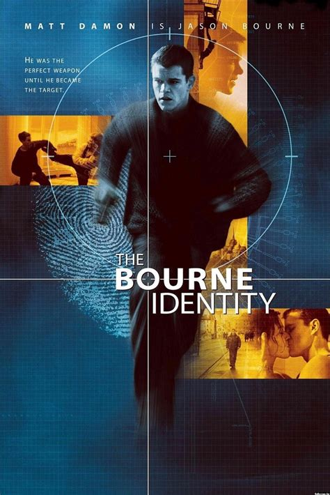 The Bourne Identity paincho the bourne trilogy
