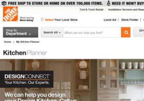 home depot design connect online kitchen planner interactive kitchen design lovetoknow