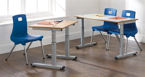 height adjustable desk uk height adjustable desk classroom table