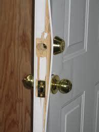 How To Reinforce Door by How To Reinforce A Weak Door