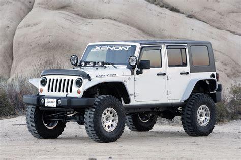 jeep fender flares xenon flat fender style flare kit for 07 18 jeep wrangler