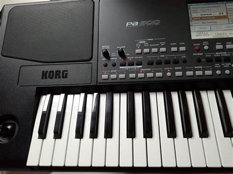 Keyboard Korg Pa600 Baru korg pa600 image 1560717 audiofanzine
