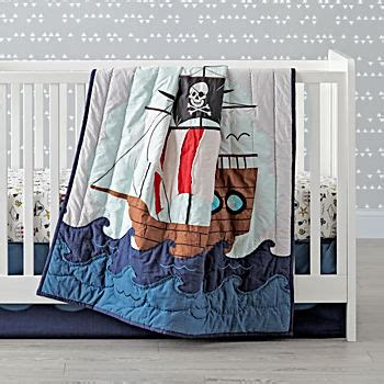 pirate baby bedding crib bedding the land of nod