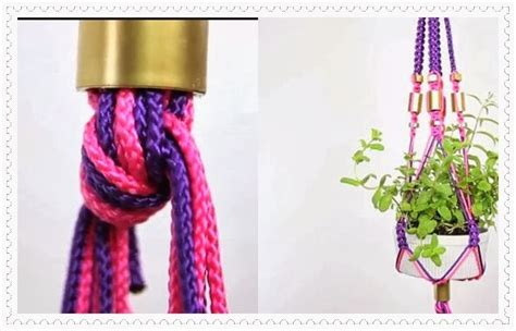 alat dan bahan untuk membuat tas dari tali kur about macrame cara membuat gantungan pot dengan macarame