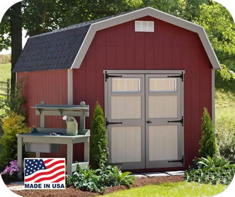 Ez Fit Sheds by Ez Fit Cornerstone 8x10 Wood Storage Shed Kit Ez